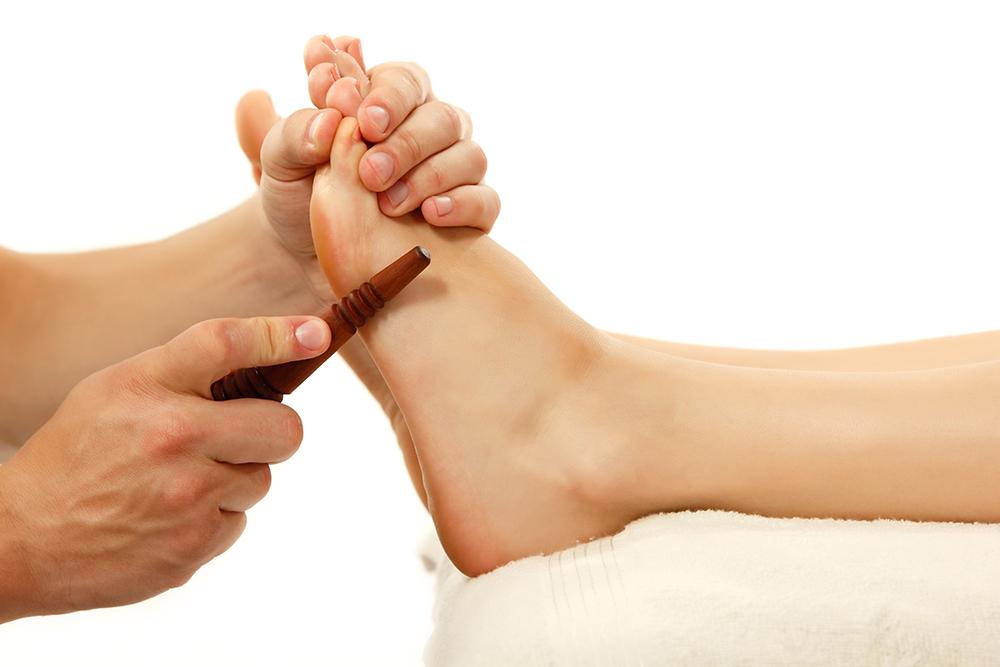 Thai foot massage ($75/60 min)
